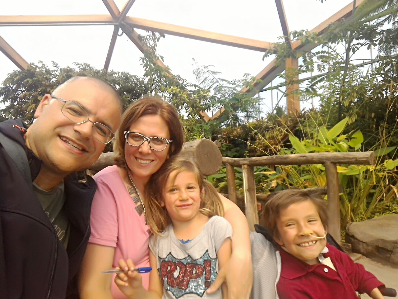 la famiglia di leo